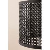 Rattan & Metal Table Lamp Megal , thumbnail image 4