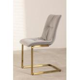 Dubhar Velvet Upholstered Dining Chair, thumbnail image 3