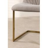 Dubhar Velvet Upholstered Dining Chair, thumbnail image 5