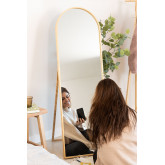 Standing Mirror in Pine Wood (137x45.5 cm) Naty, thumbnail image 1