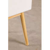 Nightstand in MDF and Lucka Pine Wood, thumbnail image 5