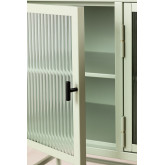 Metal and Glass TV Cabinet Vertal, thumbnail image 5
