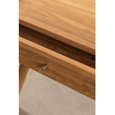 Memphis Teak Wood Coffee Table, thumbnail image 4