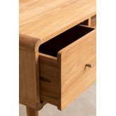 Memphis Teak Wood TV Cabinet, thumbnail image 4