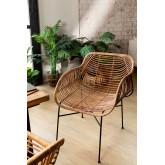 Rattan Dining Chair Lida , thumbnail image 1