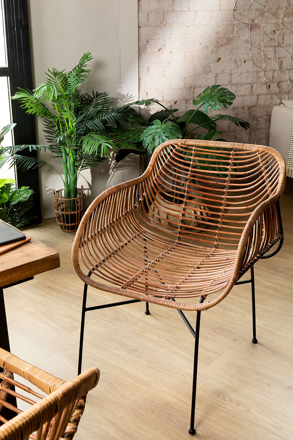 Rattan Dining Chair Lida , gallery image 1