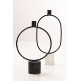 Cement and Metal Jedder candle holder, thumbnail image 4