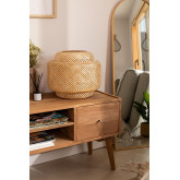 Lexie Bamboo Table Lamp, thumbnail image 1