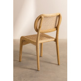 Asly Elm Wood Dining Chair, thumbnail image 4