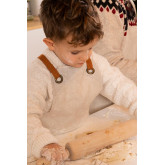Linen and Cotton Apron Zacari Kids, thumbnail image 2