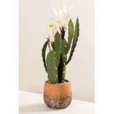 Artificial Cactus with Cereus Flowers, thumbnail image 2