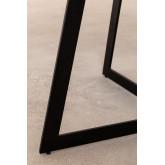 Rectangular Dining Table in Mango Wood (170x90 cm) Gledi, thumbnail image 5
