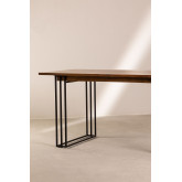 Rectangular Dining Table in Mango Wood (150x90 cm) Betu , thumbnail image 4