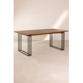 Rectangular Dining Table in Mango Wood (180x90 cm) Betu, thumbnail image 2