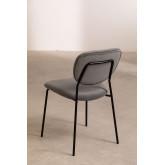 Taris Velvet Upholstered Dining Chair, thumbnail image 3