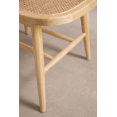 Wooden Dining Chair Leila Elm , thumbnail image 5
