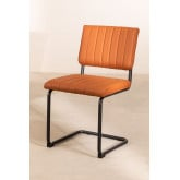 Orwell Leatherette Dining Chair, thumbnail image 2