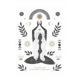 Set of 3 Decorative Sheets (50x70 and 30x40 cm) Buddha, thumbnail image 2