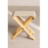 Foldable Wooden Stool Dalma Colors, thumbnail image 4