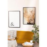 Set of 2 Decorative Sheets (50x70 cm) Flowers, thumbnail image 1