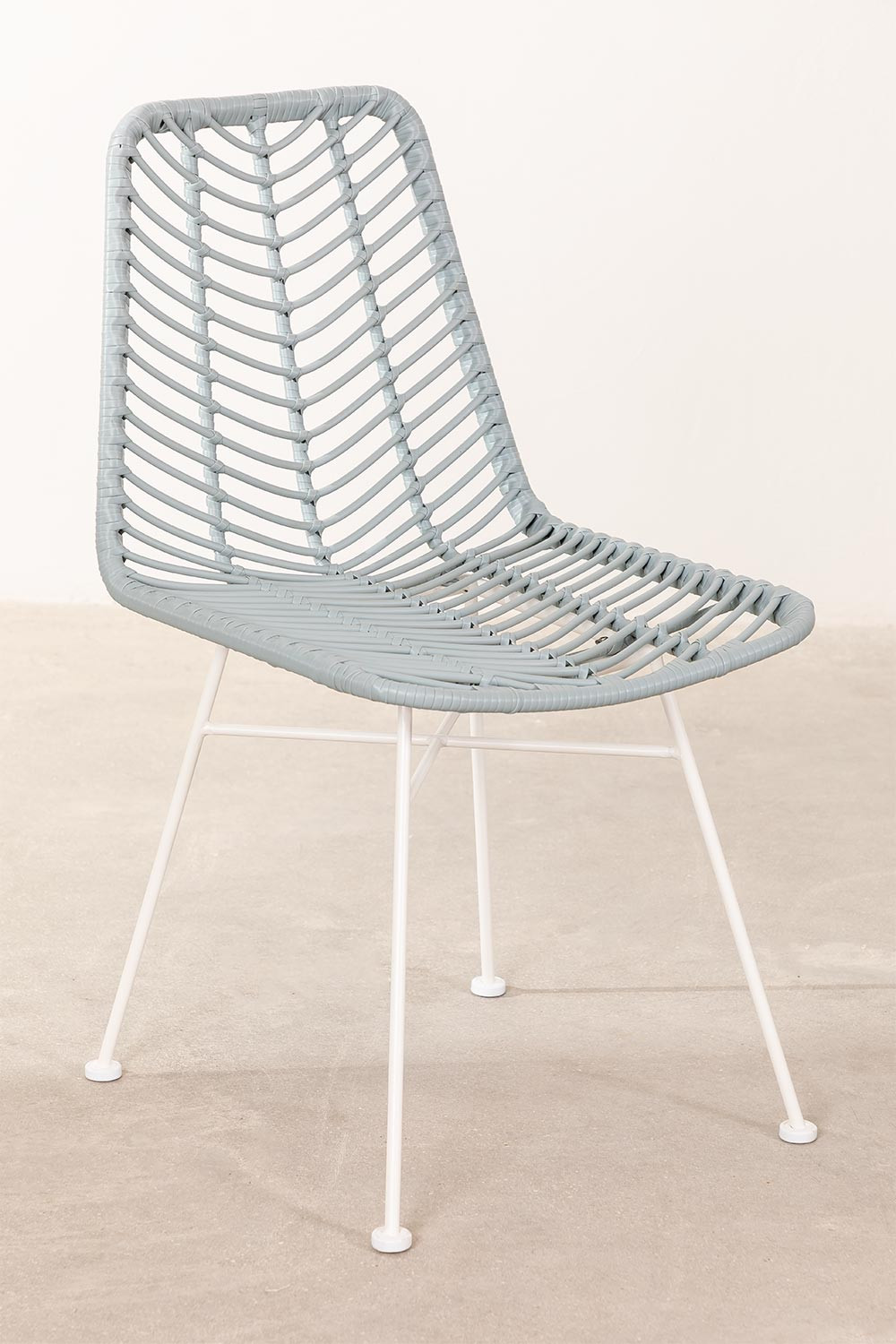 Synthetic Rattan Dining Chair Gouda Colors, gallery image 1