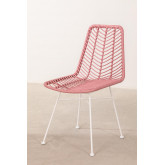 Synthetic Rattan Dining Chair Gouda Colors, thumbnail image 2