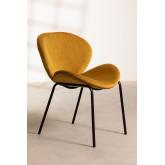 Dining Chair in Velvet Fior, thumbnail image 2