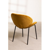 Dining Chair in Velvet Fior, thumbnail image 3