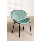 Dining Chair in Velvet Fior, thumbnail image 1