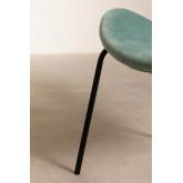 Dining Chair in Velvet Fior, thumbnail image 5