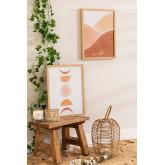Set of 2 Decorative Sheets (30x40 cm) Estel, thumbnail image 1