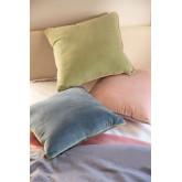 Square Velvet Cushion (40x40 cm) Lat, thumbnail image 1