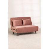 2 Seater Velvet Sofa Bed Elen, thumbnail image 4