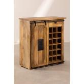 Wooden Wine Rack Cabinet Uain , thumbnail image 2