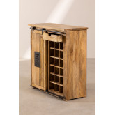 Wooden Wine Rack Cabinet Uain , thumbnail image 4
