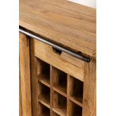 Wooden Wine Rack Cabinet Uain , thumbnail image 6