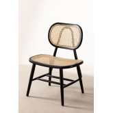Wooden Dining Chair Leila Elm , thumbnail image 2