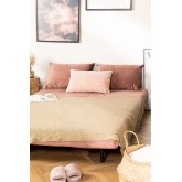 2 Seater Velvet Sofa Bed Elen, thumbnail image 3