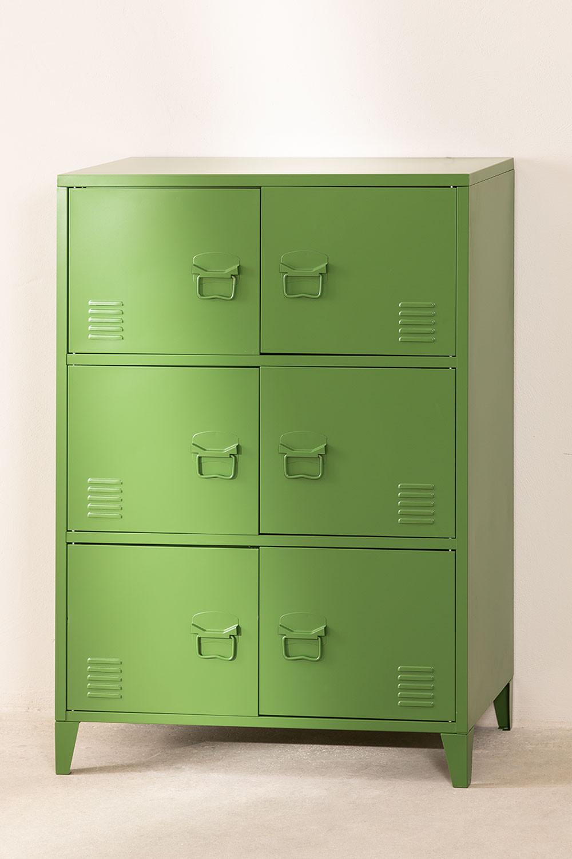 6-Door  Metal  Locker Drawer Pohpli , gallery image 1