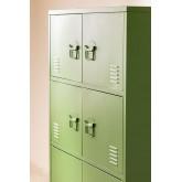 6-Door  Metal  Locker Drawer Pohpli , thumbnail image 2