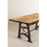 Extendable Wooden Dining Table (184-236x91 cm) Tich , thumbnail image 925797