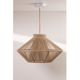 Cotton Rope Ceiling Lamp Ufo, thumbnail image 3