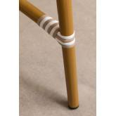 Synthetic Wicker  Round Garden Table Alisa (Ø80 cm) , thumbnail image 4