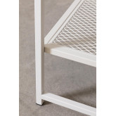 Square Side Table in Steel with Grid (50.8x50.8 cm) Thura, thumbnail image 4