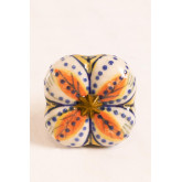 Set of 2 Ceramic Knobs Flowe, thumbnail image 2