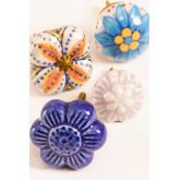 Set of 2 Ceramic Knobs Flowe, thumbnail image 4