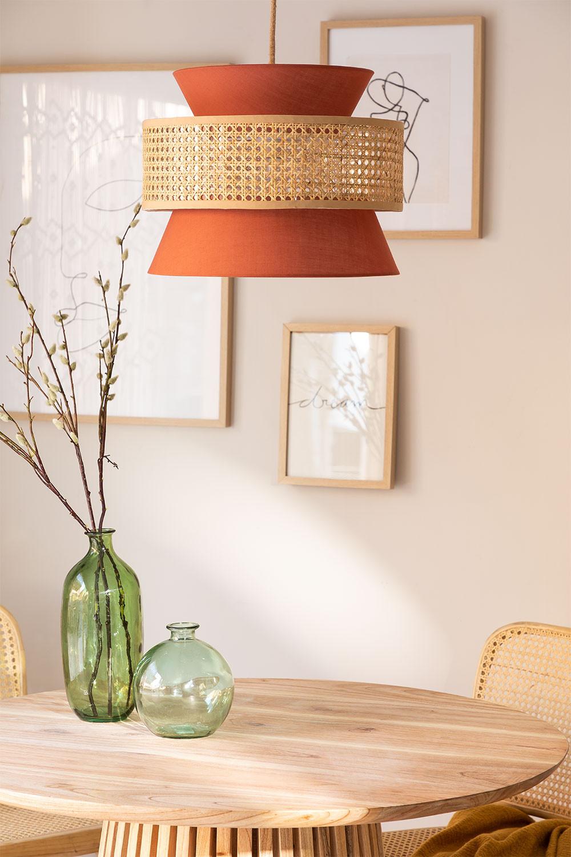 Rattan  Ceiling Lamp Yereh, gallery image 1