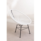 Set 2 Chairs & 1 Table in Polyethylene and Steel New Acapulco, thumbnail image 3