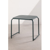 Square Outdoor Steel Side Table  Janti, thumbnail image 2