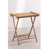 Side Table with Tray in Bamboo Tonga, thumbnail image 2